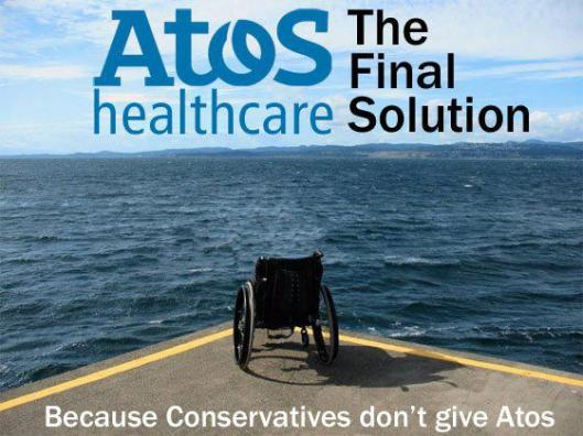 Lest we forget: We know that, on average, 73 people died every week between January and November 2011 - after undergoing the DWP work capability assessment administered by Atos. Who knows how many are dying now?