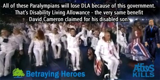 Plight of the Paralympians: This is what they were being told to expect in September 2012.