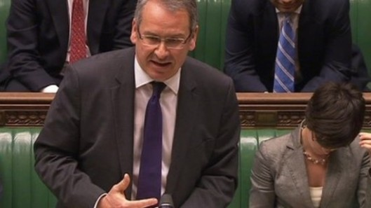 Mark Hoban, sending even his colleagues to sleep in another Parliamentary debate.