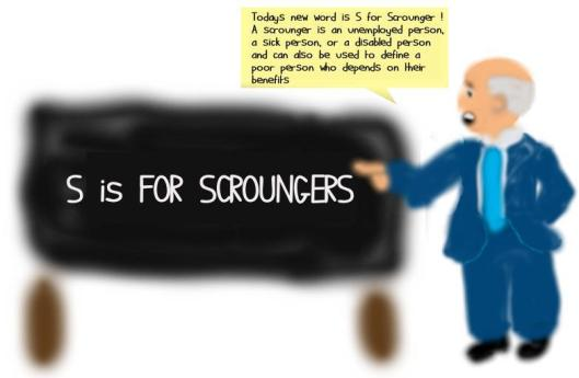 Iain Duncan Smith may need to rethink his definition of 'scrounger' after it was revealed that work programme 'provider' companies have been cooking the books to make it seem that more people have moved into work than is the case - thereby pocketing large fees for services they haven't rendered!