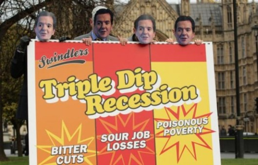 Triple-dip breakfast: Will we all be dining on the sour cereal of recession again, when GDP figures are published on Thursday morning?