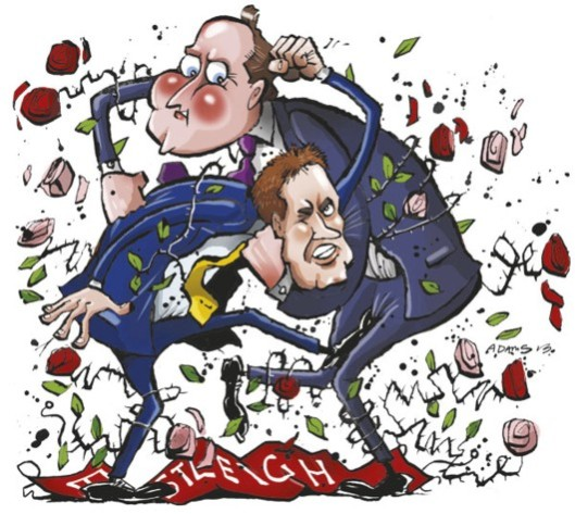 While Cameron and Clegg beat themselves - and each other - up over Eastleigh, Miliband can learn the lessons and prepare for victory in 2015 - if he wants it.