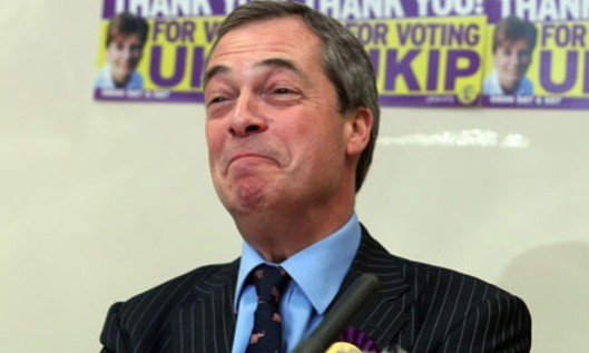Why is HE looking so happy? Could it be that Nigel Farage's meeting with Rupert Murdoch signifies support for UKIP from News Corporation? If so, would it really be in the public interest, or in that of the individuals concerned?