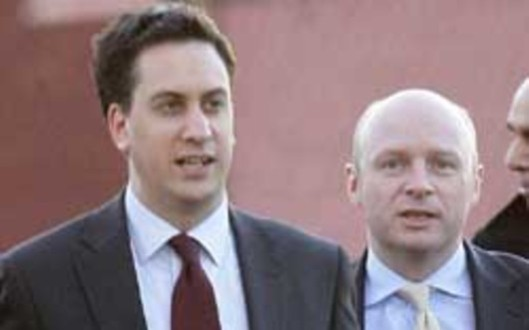 Faces of betrayal: Are Ed Miliband and his work and pensions spokesman Liam Byrne about to engineer the biggest betrayal of working class people in Labour Party history? If so, how do they think they will ever be able to win an election?