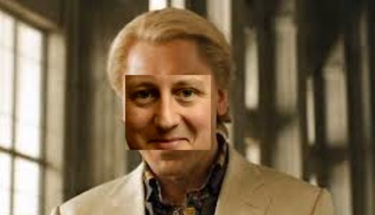 David Cameron as the villain in Skyfall. Clearly my photo-manipulation skills are poor, but it gets the point across: Is this how the Prime Monster sees himself?