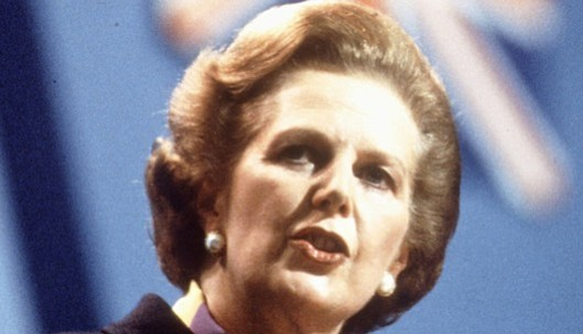 "The Iron Lady: This is probably the most iconic image of Margaret Thatcher from her tenure as Prime Minister of the UK. ""The lady's not for turning,"" she warned. Unfortunately for Britain, she kept her word."