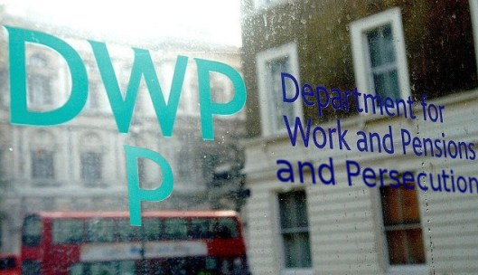 DWP - Deliberate and Wanton Persecution. (This image borrowed from the Skwawkbox blog as the article is very strongly linked to the 'Claimant Commitment' piece there.