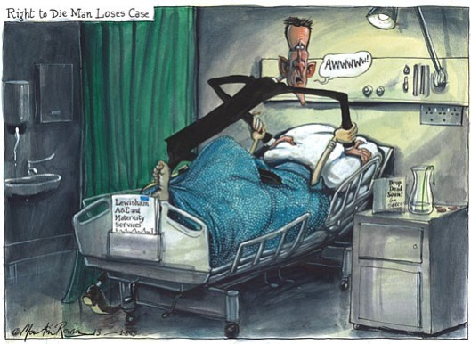 Bad for your health: If you don't have time to read the full article, this Martin Rowson cartoon from The Guardian provides the full picture.