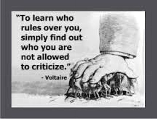 Loss of freedom: Every day the Coalition government tries to take something away from you; at the moment, it's your right to criticise.