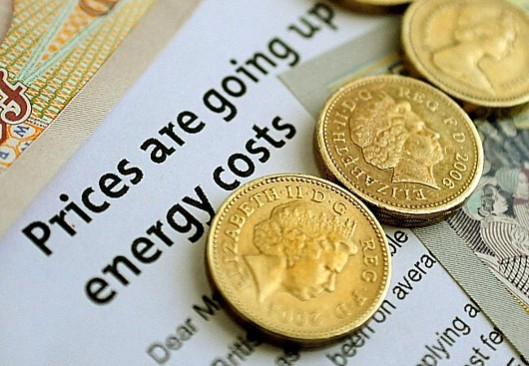 Miliband's cost-of-living crusade starts here. [Picture: Metro - from an article in August headlined 'Energy company profits rise 74 per cent in 48 months']