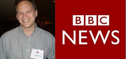 Shapps v BBC: Take a look at the name on his tag and ask yourself who you think is more trustworthy.