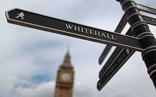 Don't blame Whitehall: Civil servants are highly-trained experts in their field; Conservative politicians are amateurs with opinions. Who do YOU think is responsible for the cock-up called Universal Credit? [Picture: Daily Telegraph]