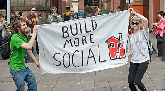 The obvious solution: The government should be helping build new social housing - not forcing the demolition of what little there is.