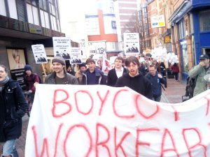 Boycott Workfare 3rd March 03