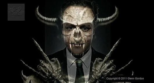 Face the facts: David Cameron has been sucking up to Hindus, Jews and now Christians because he wants religious people to vote for his Conservatives - in the same way Satan, the great deceiver, tries to lure the righteous into sin. If he worships any religious figure, it is Mammon, the personification of greed.