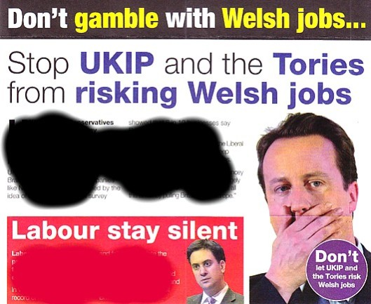 Negative campaigning at its worst: It's what the Liberal - or is it Tory? - Democrats do best.