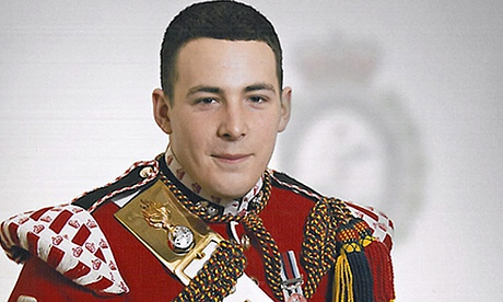 Lee Rigby; Pic courtesy of AP Press
