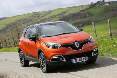 The Renault Captur: It seems that David Cameron's Internet filters would identify this as pornography. It is possible that this would make Renault executives proud.