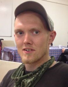 David Goddard spent four weeks sleeping on the floor at one of  the three No Second Night Out hubs in London. The target length of stay is 72 hours.