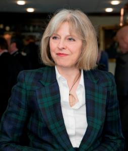 Theresa May, home sercretary. Pic Credit: conservatives.com