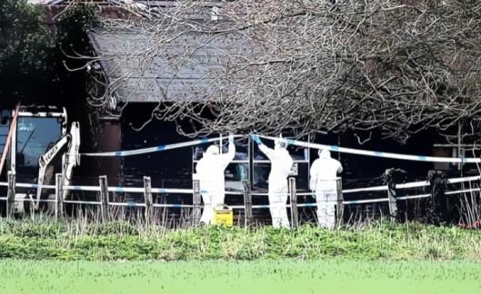 200331 Woodmancote murder scene